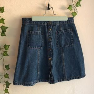 BDG Urban Outfitters jean skirt